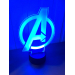 3D Lampe - Avengers logo