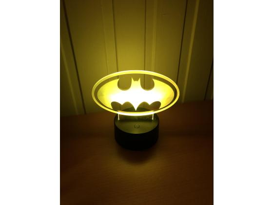3D Lampe - Batman logo