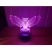 3D Lampe - Ugle