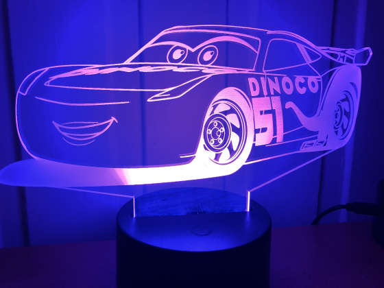 Lighting McQueen Ramirez