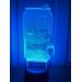 3D Lampe - Brusflaske