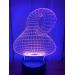 3D Lampe - Dekor 2