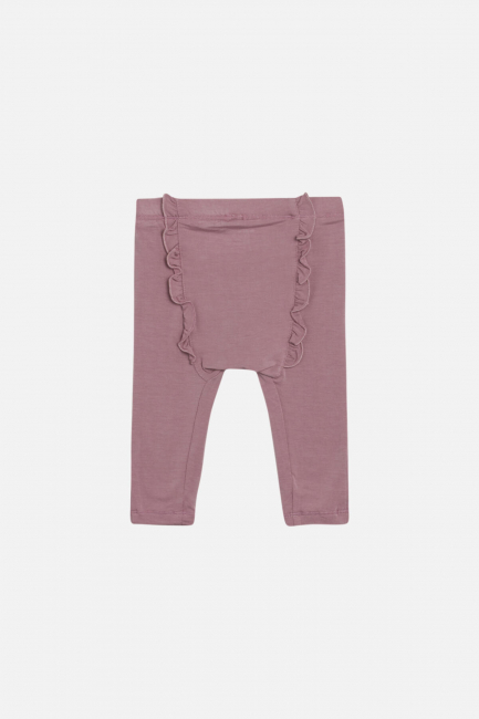 Hust & Claire Lucia legging med volang bambus