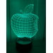 3D Lampe - Eple
