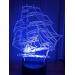 3D Lampe - Seilskute