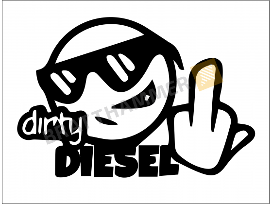 Dirty Diesel smiley