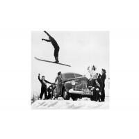 Ski jump vintage