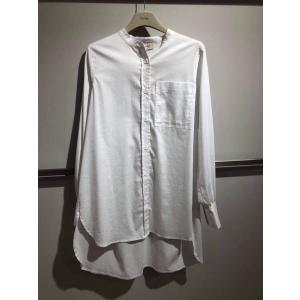 Isla 23 Solid Shirt White