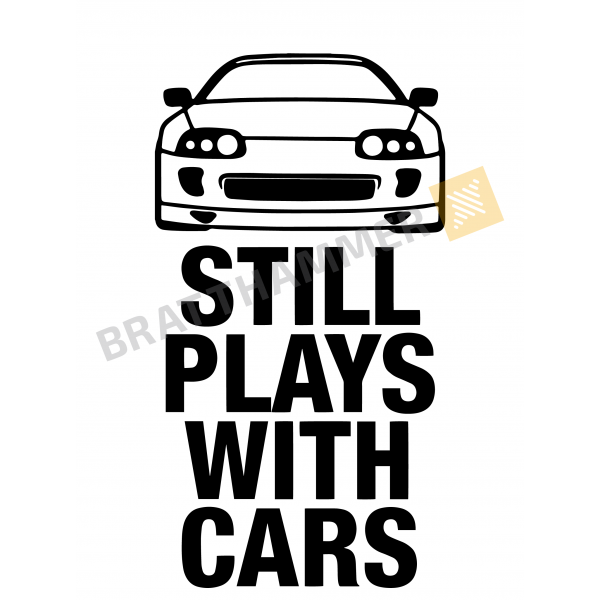 Still plays with cars