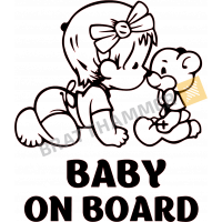Baby on board - Girl