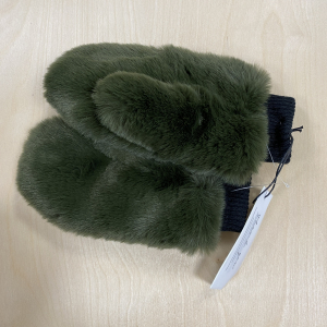 Ted Faux Gloves Green