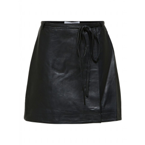 Ralla Leather Skirt
