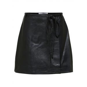 Ralla Leather Skirt