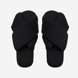 Lou Slippers Black
