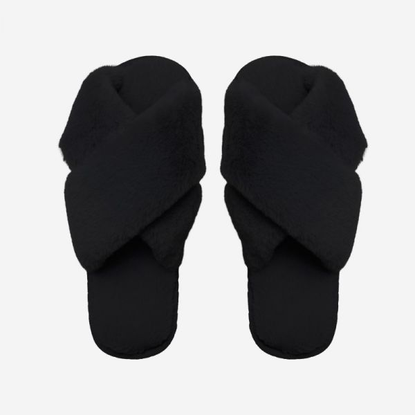 Lou Slippers Black