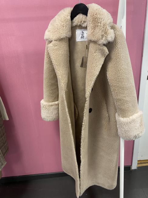 Fiona Faux Fur Offwhite Long
