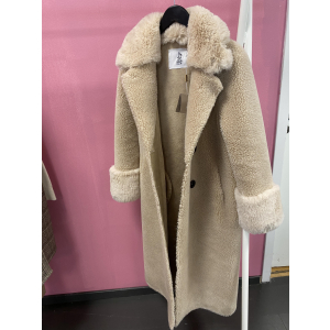 Fiona Faux Fur Offwhite Long