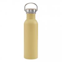 Drikkeflaske i stål - Mustard