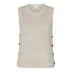 Malou Button Vest