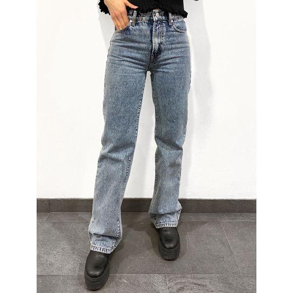 Mia Straight Jeans Was Brighton - Denim Blue