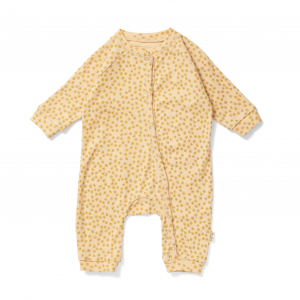 KONGES SLØJD - MANNY ONESIE BUTTERCUP YELLOW