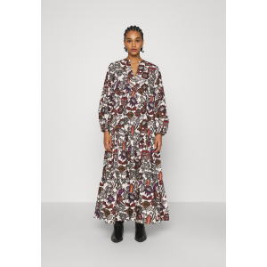 Voluminous Printed Organic Cotton Dress