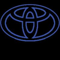3D Lampe - Bilmerke Toyota