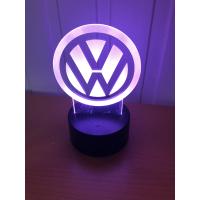 3D Lampe - Bilmerke VW