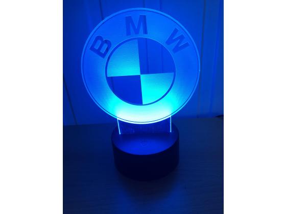 3D Lampe - Bilmerke BMW