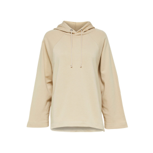 Jasie Hood Sweat Beige