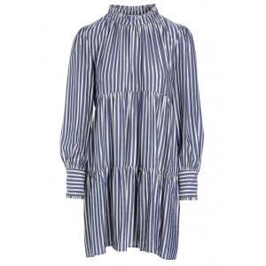 Kira NS Dress Stripe Gold