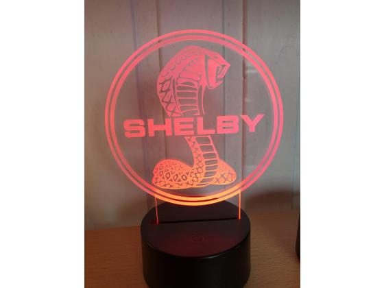 3D Lampe - Bilmerke Shelby
