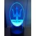 3D Lampe - Bilmerke Maserati