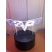 3D Lampe - Bilmerke Corvette