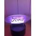 3D Lampe - Bilmerke Ford