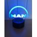 3D Lampe - Bilmerke Man Lastebil