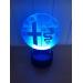 3D Lampe - Bilmerke Alfa Romeo