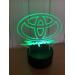 3D Lampe - Bilmerke Toyota Supra