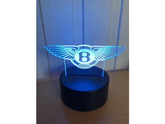 3D Lampe - Bilmerke Bentley