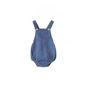 I DIG DENIM - FRANKIE DENIM DUNGAREES BLUE