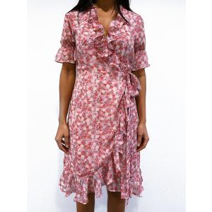 Sissy Dress - Pink Flower