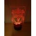 3D Lampe - Fotball - Liverpool