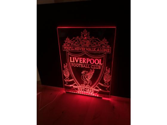 Ledskilt fotball - Liverpool