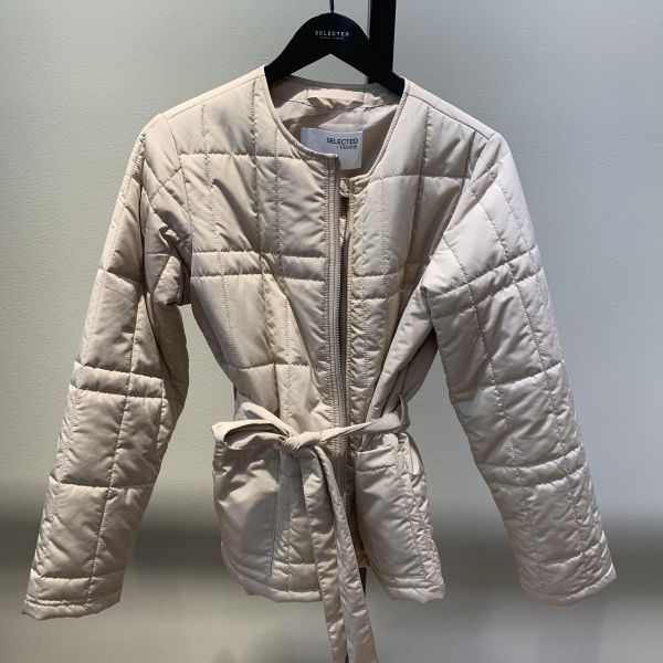 Plastic Change Quilt Spring Jacket