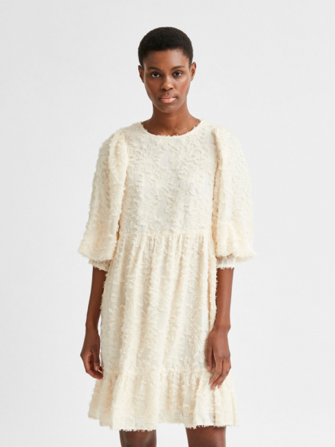 Daniela kjole offwhite