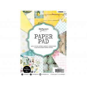 Studio Light Paper Pad A5 36ark – Garden 132