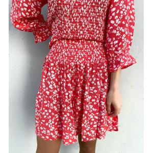 Thalia Mini Skirt - Strawberry