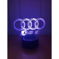 3D Lampe - Bilmerke Audi RS3
