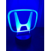 3D Lampe - Bilmerke Honda