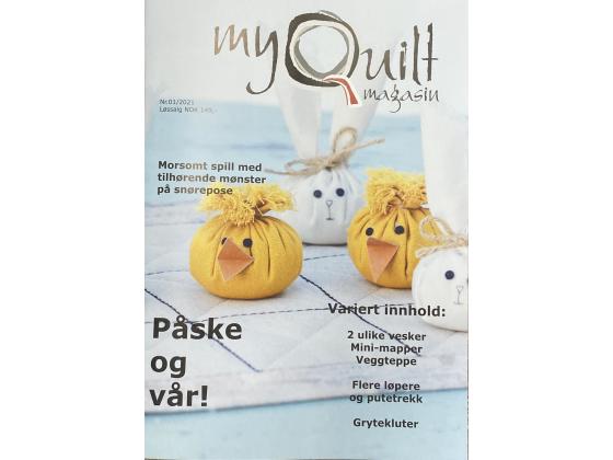 MyQuilt nr 1 - 2021